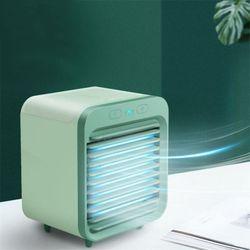미니냉풍기 휴대용에어컨 에어쿨러냉풍기 얼음선풍기