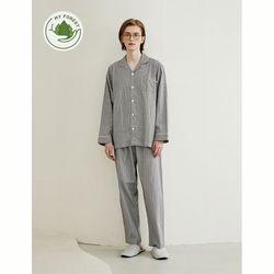 남성반팔잠옷 슬리피 긴소매 페어 5114(남성)
