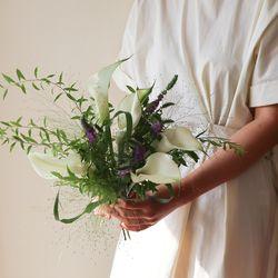포레스트카라 꽃다발