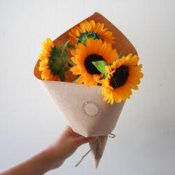고흐 해바라기 꽃다발