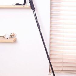 등산 지팡이 일자 4단 트레킹폴 등산지팡이