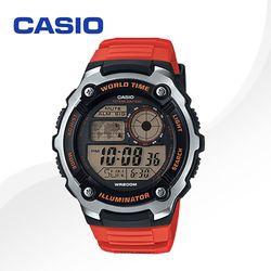 CASIO 카시오 AE-2100W-4A 우레탄밴드 디지털시계