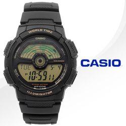CASIO 카시오 AE-1100W-1B 우레탄밴드 디지털시계