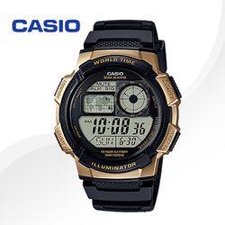 CASIO 카시오 AE-1000W-1A3 우레탄밴드 디지털시계