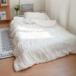 키즈 오가닉 코튼 100 드레스 침구세트 (2colors)