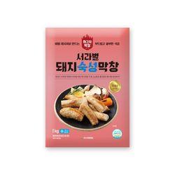 서라벌푸드 숙성돼지막창 1kg 국내산+막창장120g