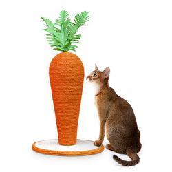 당근 스크레쳐 대형 고양이 발톱관리 장난감