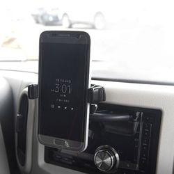 토드 스마트폰 거치대 원터치 CD슬롯형