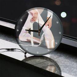 ng765-LED시계액자25R발레리나