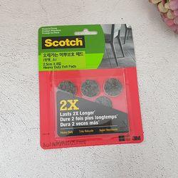 3M 스카치 오래가는 마루보호 패드 원형 소 2.5cm