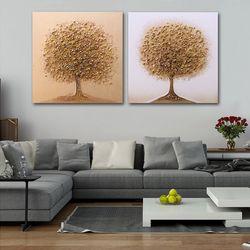 GD1081124 둥근나무 유화 그림액자 (2 type )