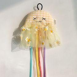 개달당 해파리 고양이 리본끈 고양이장난감 낚싯대 리필