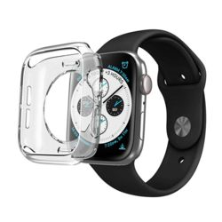애플워치 풀커버 보호 투명 TPU케이스 6 5 4 SE세대