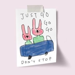 [drawingpaper] A3 포스터 - dont stop