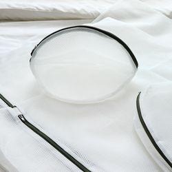 소프 무형광 이중 세탁망 원형 소 1P