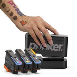 1초 디지털 프린팅 문신 타투 프링커 S 블랙+컬러세트