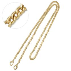 매트골드 얇은 금속체인 크로스바디 핸드백가방줄 G078