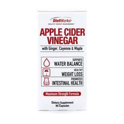 DietWorks 다이어트웍스 애플사이다 비니거 90캡슐 Apple Cider