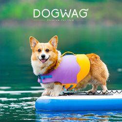 [특가] 둥둥캔디 강아지 구명조끼 애견 수영 튜브 중형견 수영복 물놀이