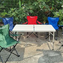 와이드형 접이식 멀티 캠핑용 테이블