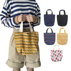 패턴 미니 에코백 숄더백 토트백 쇼퍼백 여성가방