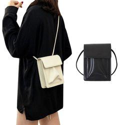 미니 스퀘어 포켓 크로스백 카드지갑 핸드폰가방 여성가방