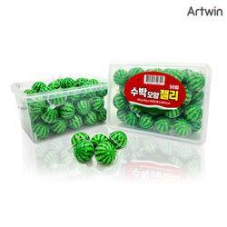 1000 수박 모양 젤리 18g BOX(50)