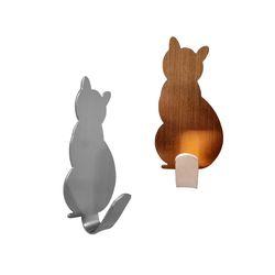 고양이 후크 인테리어 벽장식 열쇠 마스크걸이