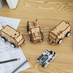 움직이는 어린이 자동차 장난감 만들기