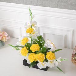 위칭카네이션수반set 42cmP 조화 꽃 인테리어 FMFUFT