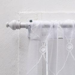해리스 화이트슬림 봉집형 커튼봉 3단 100300cm