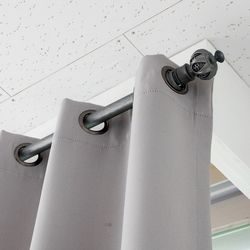 해리스 비바체 엔틱 커튼봉 25파이 5단 110550cm