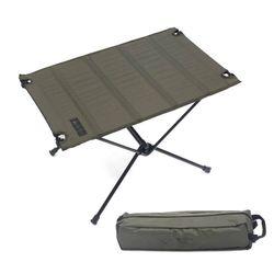 알루미늄 롤테이블 카키 조립식 백팩킹 캠핑 테이블