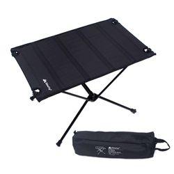 알루미늄 롤테이블 블랙 조립식 백팩킹 캠핑 테이블