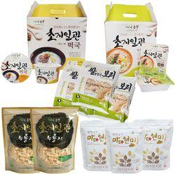 초지일관 떡국 쌀국수 누룽지 강정 씨리얼 5종 세트