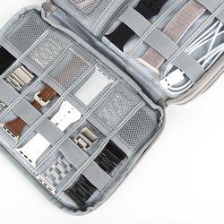 애플워치 스트랩 디지털기기 2단정리함 수납용 파우치