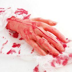 할로윈 잘린 신체 손 모형