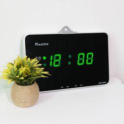 무소음 LED 디지털 전자 벽시계 SDY-303G