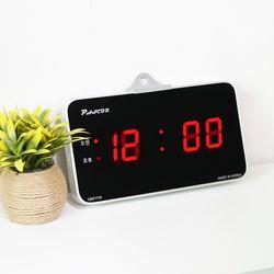 무소음 LED 디지털 탁상겸용 전자 벽시계 SDY-315R
