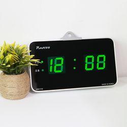 무소음 LED 디지털 탁상겸용 전자 벽시계 SDY-316G