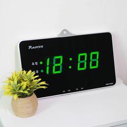 무소음 LED 디지털 전자 벽시계 SDY-319G