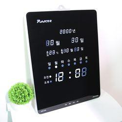 무소음 LED 디지털 전자 벽시계 SDY-324W