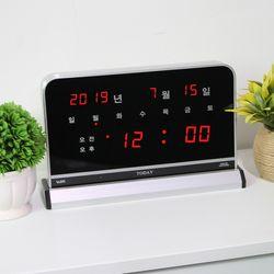 무소음 LED 디지털 전자 탁상시계 SDY-101R