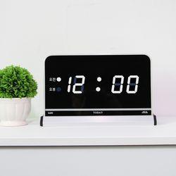 무소음 LED 디지털 전자 탁상시계 SDY-102W
