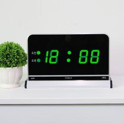 무소음 LED 디지털 전자 탁상시계 SDY-104G