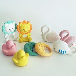 천연라텍스 목욕인형 유아 목욕장난감 물놀이인형