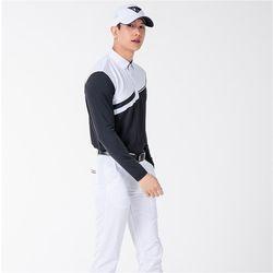 남자 시원한 봄 여름 데일리 기능성 골퍼 골프 긴팔티