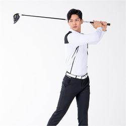 남자 여름 깔끔 시원한 스포츠웨어 골프 긴팔티셔츠