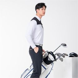 남자 여름 시원한 기능성 깔끔 20대 30대 골프 긴팔티