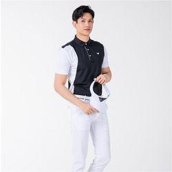 남자 중년남성 시원한 여름 기능성 골프 반팔티셔츠